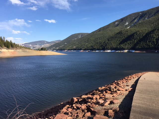 Colorado Waters Fished: Ruedi Reservoir