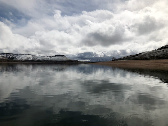 Colorado Waters Fished: Blue Mesa Reservoir
